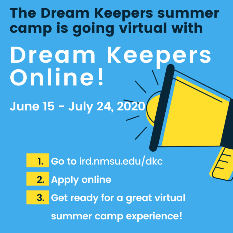 Dream Keepers summer camp hosted by NMSU Indian Resources Development
